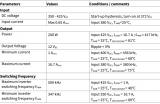 英飞凌同步整流500kHz 200W LLC评估板