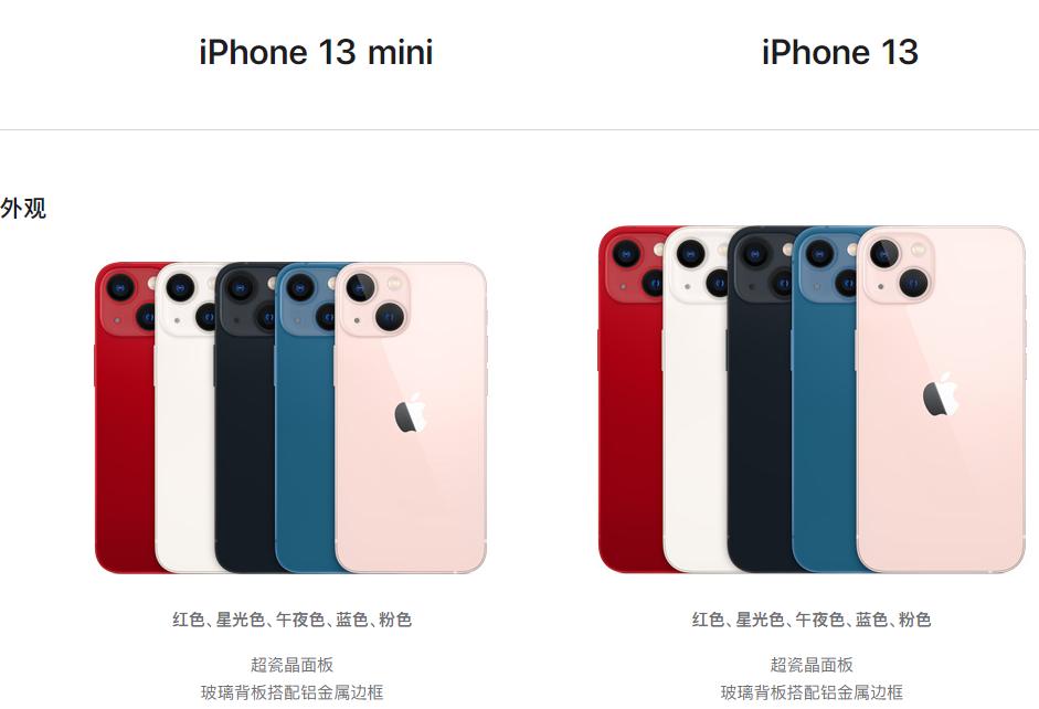 iPhone13首批售罄连夜补货 新款苹果13图片