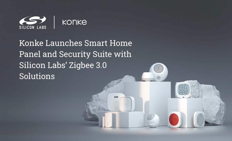 Silicon Labs的Zigbee 3.0解决方案助力控客推出智能家居面板和安防系列产品