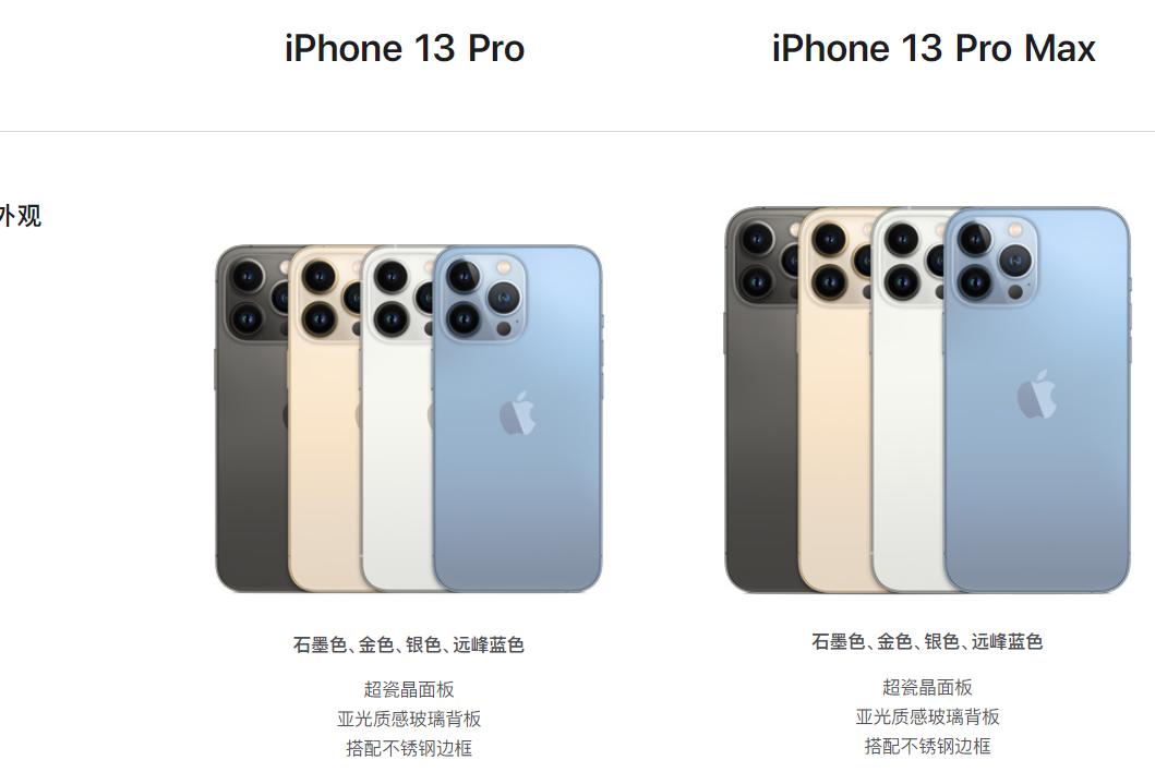 苹果13pro手机价格和图片