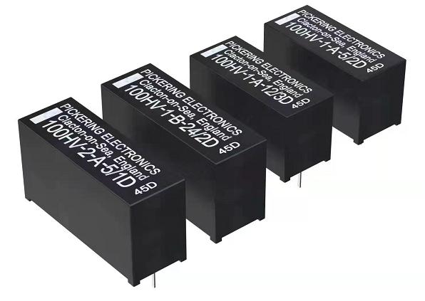 Pickering Electronics推出新款耐高压SIL/SIP舌簧继电器 线圈电阻更高,功耗更低