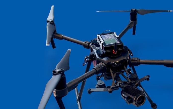 新款完整便携式频谱仪无人机机载频谱仪解决方案