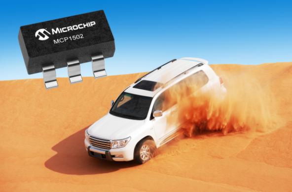 Microchip发布高精度电压基准IC,为适应更大工作温度范围的汽车应用提供极低漂移量