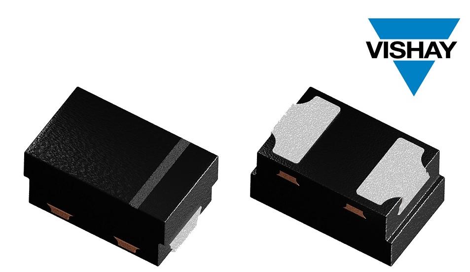 Vishay推出采用超小型封装的小信号肖特基和开关二极管
