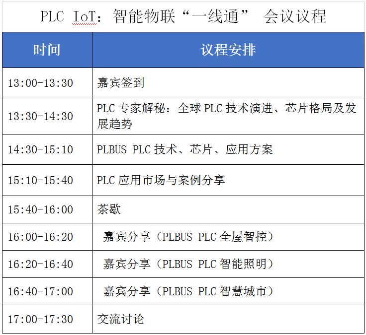 力合微电子PLC IoT专场技术论坛即将举办,精彩亮点抢先看