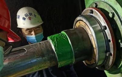 【冷剪機維修】冷剪機軸承位磨損的現場修復技術