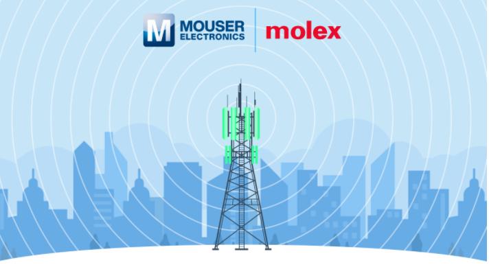 贸泽电子联手Molex推出全新内容网站,探索天线应用和战略