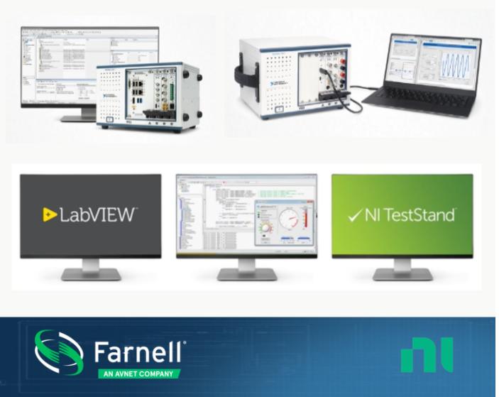 e络盟推出基于NI和Omega产品技术的新型传感器到软件解决方案