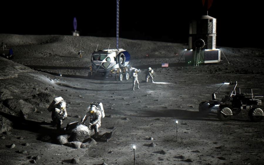 NASA月球上裝Wi-Fi,中國空間站開直播