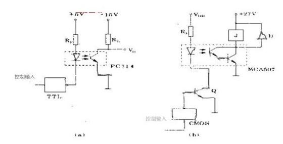 光电隔离电路工作原理(光电隔离电路/光耦反馈电路/三极管型光电耦合器)