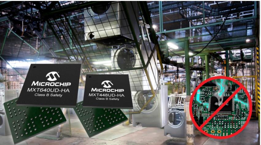 Microchip推出面向家用电器市场的电容式触摸屏控制器系列产品,可适应恶劣和嘈杂环境