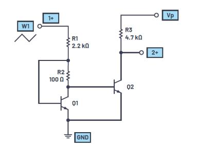 ADALM2000实验:稳定电流源