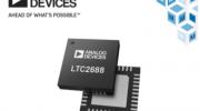 贸泽备货Analog Devices LTC2688 16通道DAC助力光纤网络和自动化应用