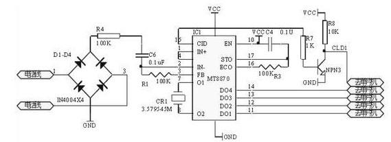 音频电路原理(双音频解码电子电路/TDA2822双声道功放电路/音频放大处理电路)