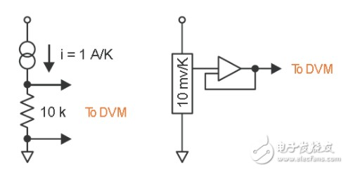 温度传感器电路原理(数字温度传感器电路/pt100温度传感器电路/LM35 温度传感器)