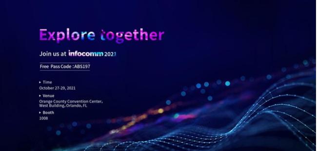 Absen将在InfoComm 2021上展出最新LED显示解决方案