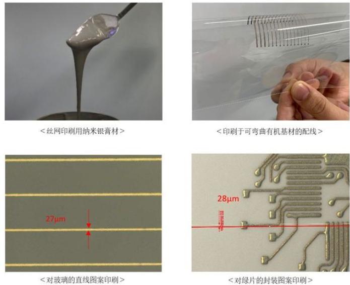 """田中贵金属工业 开发了用于丝网印刷的""""低温共烧纳米银膏材"""""""