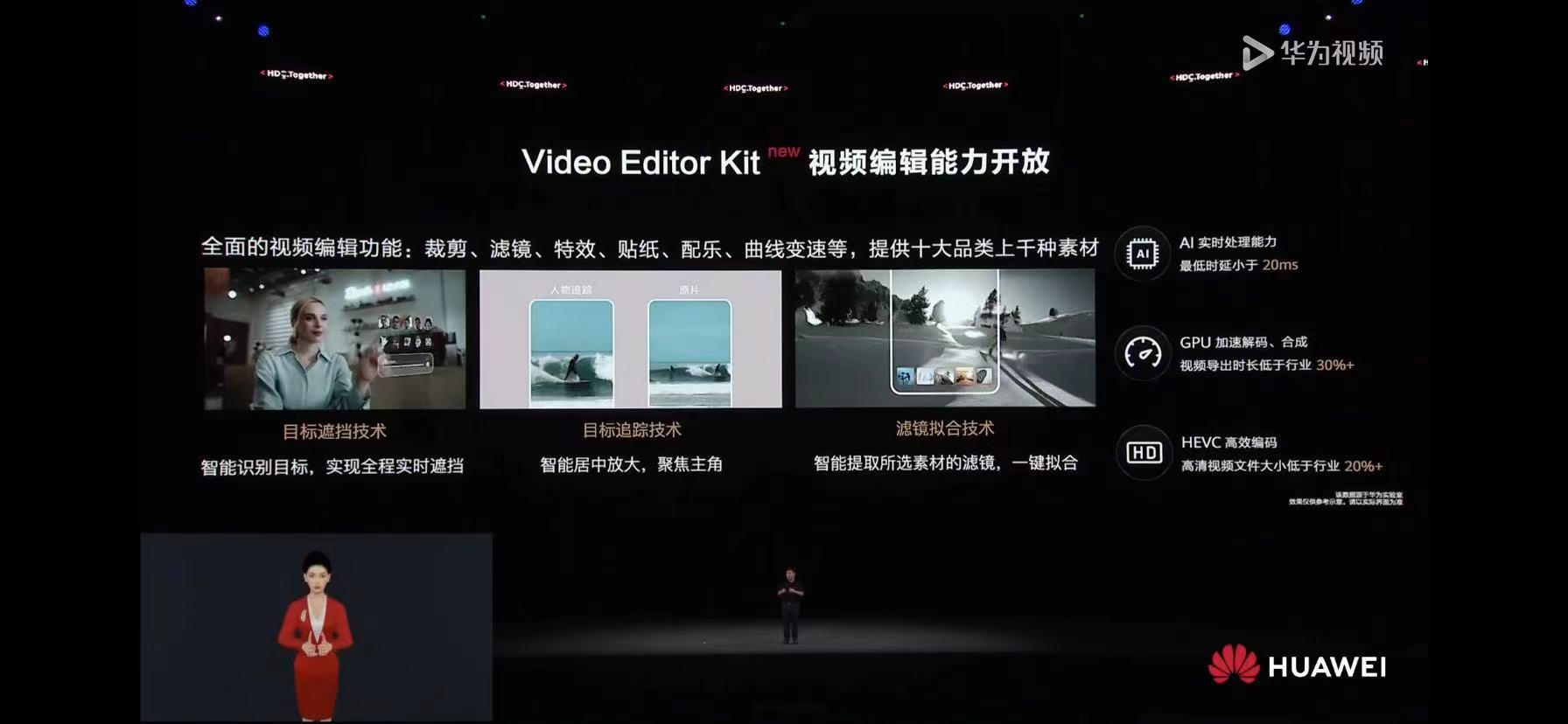 华为开发者大会2021:video editor kit视频编辑能力开放