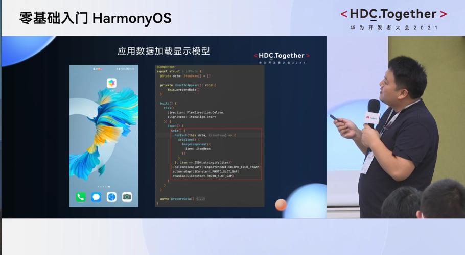 华为开发者HarmonyOS零基础入门:应用数据加载显示模型