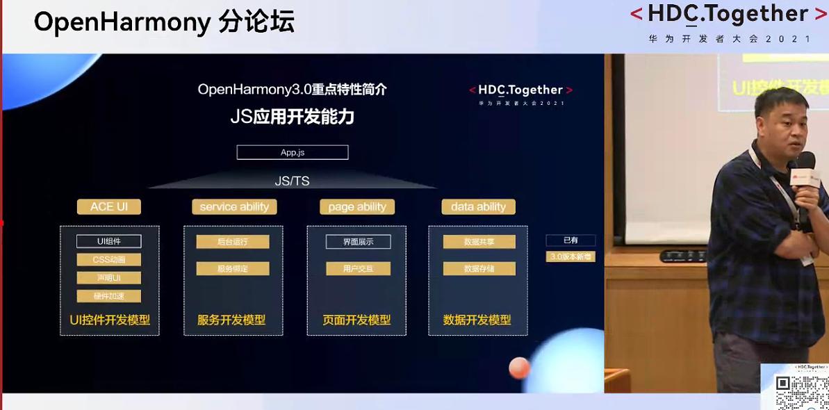 2021华为开发者大会openharmony3.0JS应用开发能力