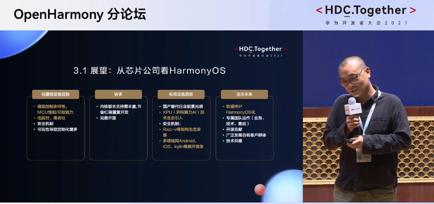 2021华为开发者大会:从芯片公司看HarmonyOS
