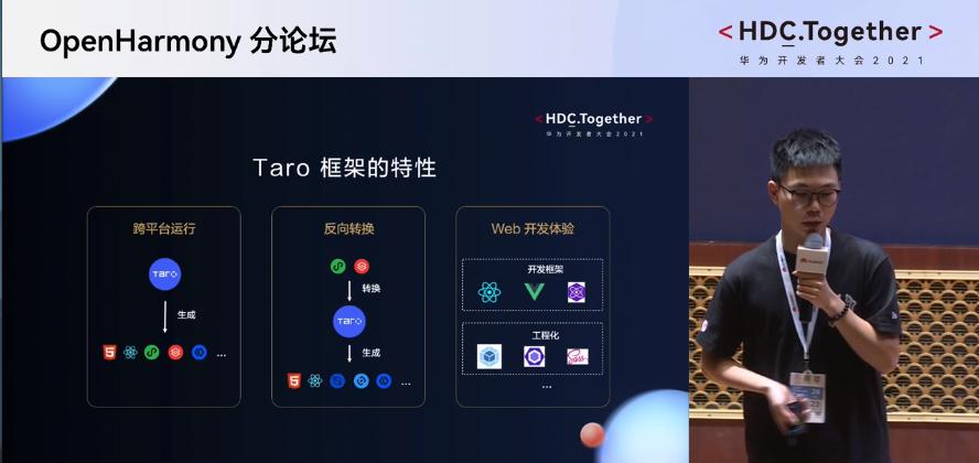 华为开发者大会2021 Taro框架的特性