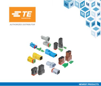 贸泽开售TE Connectivity DT-XT密封式连接器系统 适用于要求严苛的商用汽车应用