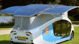 大学生打造,一款完全由太阳能驱动的电动汽车!17.5m2太阳能板、两千瓦功率,满电续航600公里…