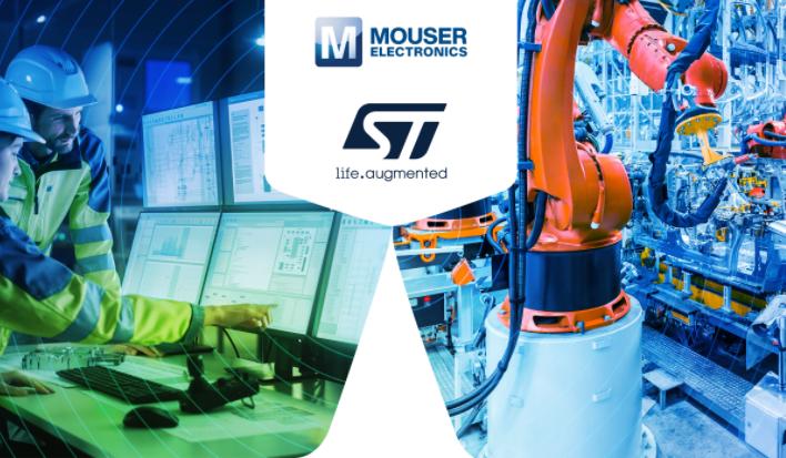 贸泽携手STMicroelectronics推出全新内容网站  聚焦工业4.0新知
