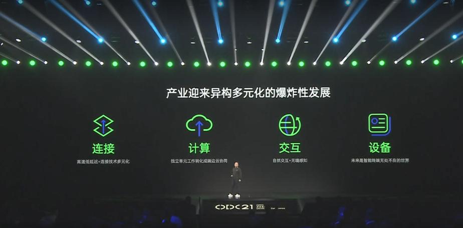2021 OPPO开发者大会 智能终端通过强大的感知能力