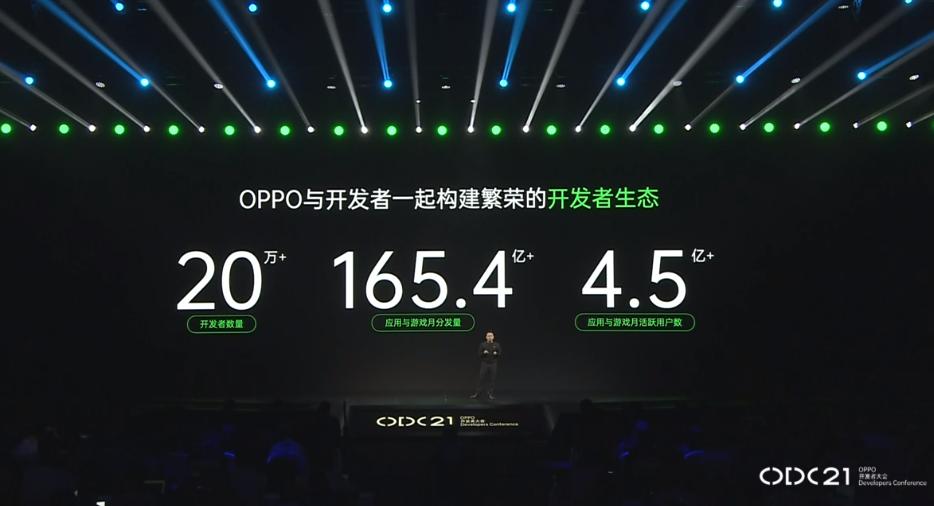 2021 OPPO开发者大会:OPPO与开发者一起构建繁荣的开发者生态