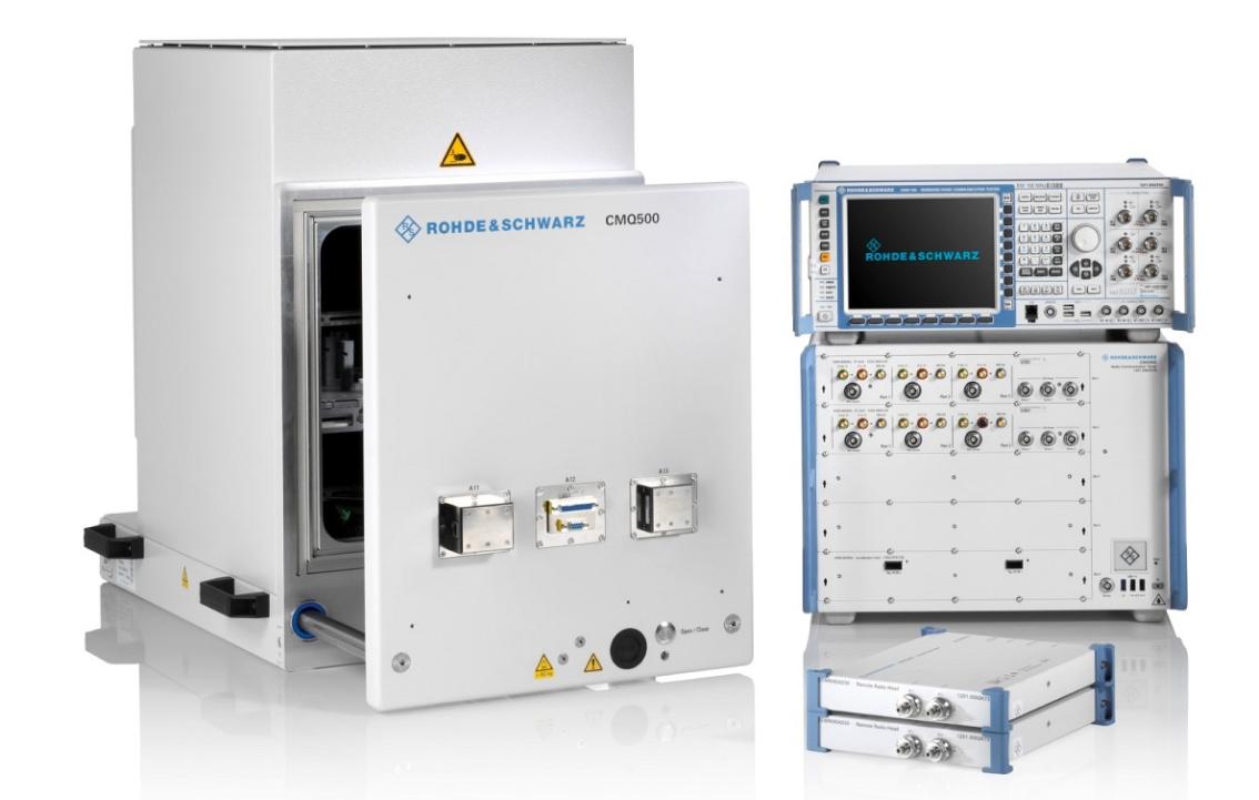 罗德与施瓦茨成功验证10Gbps端到端(E2E)峰值下行链路IP数据吞吐量