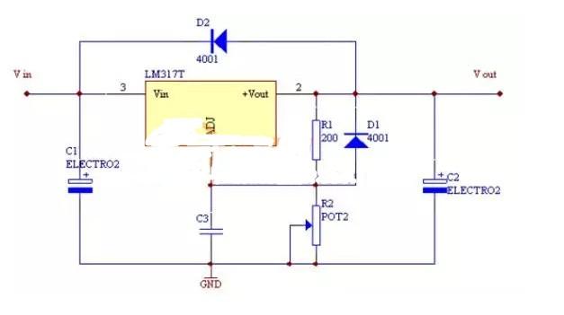 数字电路图怎么看(可调数字电压表电路图/TTL逻辑测试仪电路/数字隔离器Si8641典型电路)